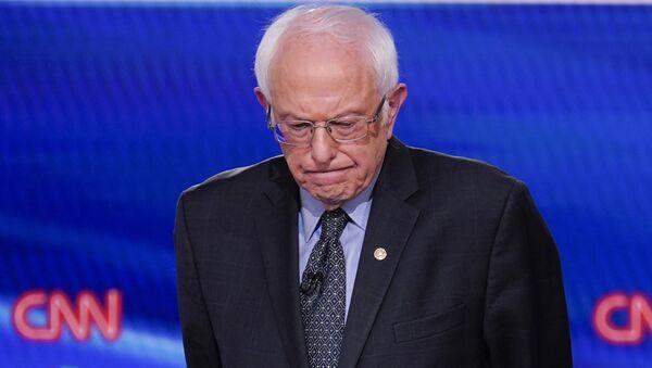 Sen. Bernie Sanders, I-Vt., participates in a Democratic presidential primary debate at CNN Studios in Washington, Sunday, March 15, 2020 - Sputnik International