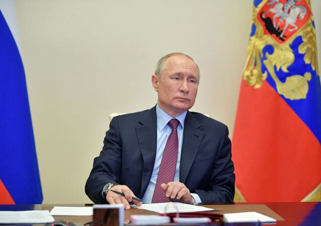 President Putin on the meeting dedicated to the space sphere development, 10 April 2020