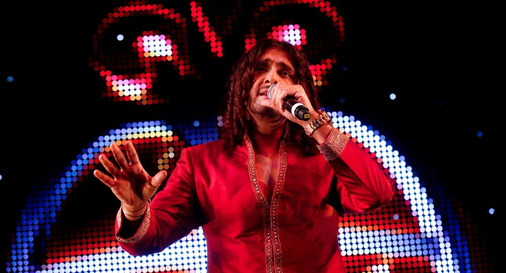 Indian Bollywood singer Sonu Nigam performed at The Asian Awards at Grosvenor House Hotel, Park Lane, London, Tuesday, October 26, 2010