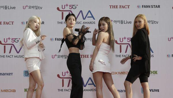Members of South Korean K-Pop group Mamamoo - Sputnik International