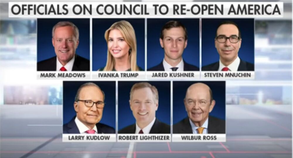 Trump names Ivanka, Jared Kushner as part of council to reopen America