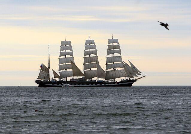 Kruzenshtern ship