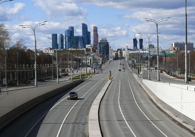 Phantasmagoric Views of Empty Moscow Amid COVID-19 Pandemic
