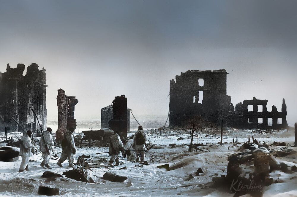 Stalingrad after its liberation from the Nazi invasion.