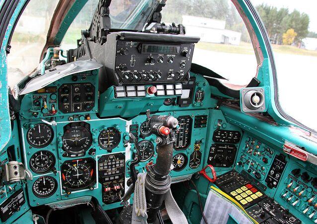 Cockpit of Mikoyan-Gurevich MiG-31
