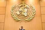 New World Health Organization (WHO) Director General Ethiopia's Tedros Adhanom Ghebreyesus delivers his speech after his election during the World Health Assembly (WHA) on May 23, 2017 in Geneva