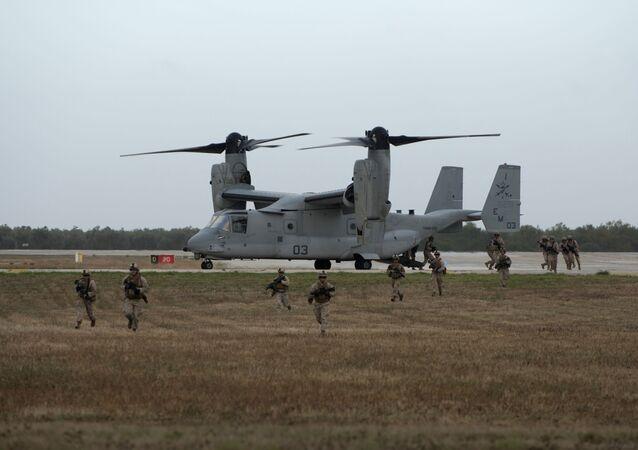 US Bell Boeing V-22 Osprey