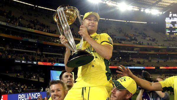 Australian Cricketer David Warner - Sputnik International