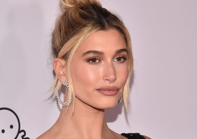 Hailey Bieber attends the premiere of YouTube Original's Justin Bieber: Seasons at the Regency Bruin Theatre on January 27, 2020 in Los Angeles, California.
