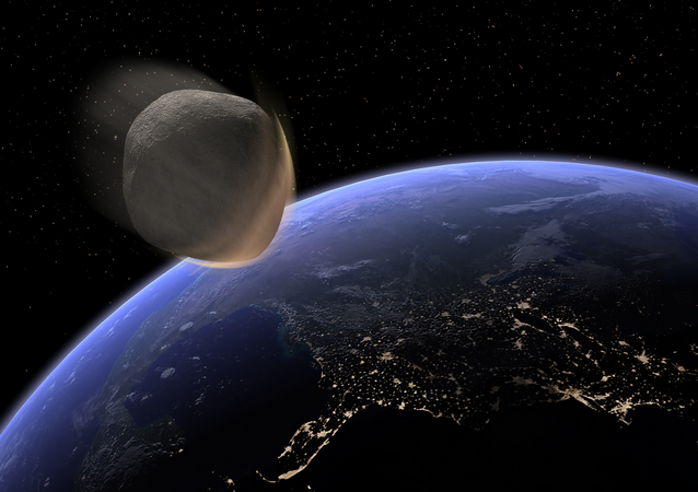 Earth Impacting Asteroid