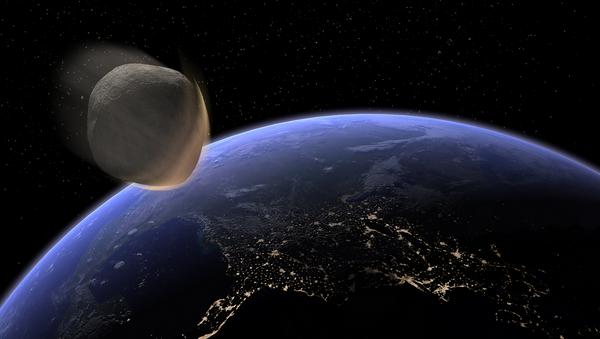 Earth Impacting Asteroid - Sputnik International