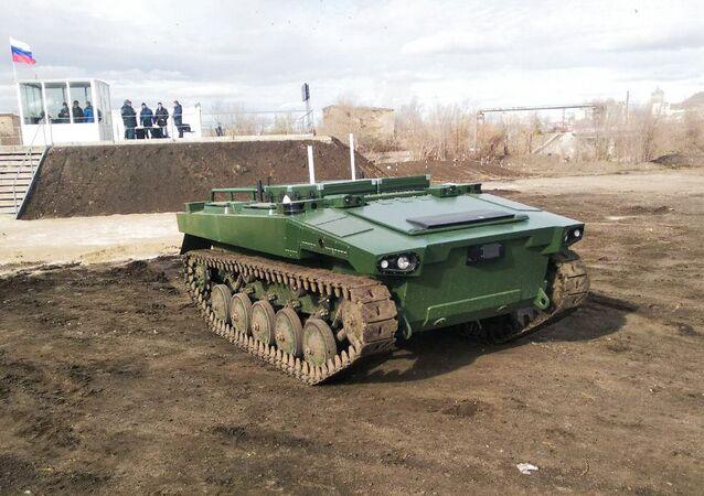 Russia Marker Combat Robot