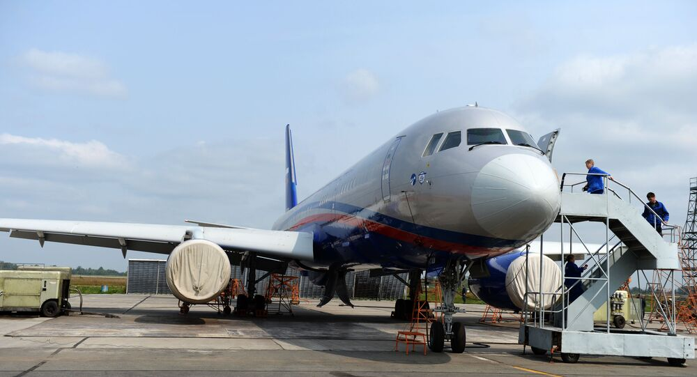 Russian Tu-214ON (Open Skies) created for the observation flights under the Open Skies Treaty