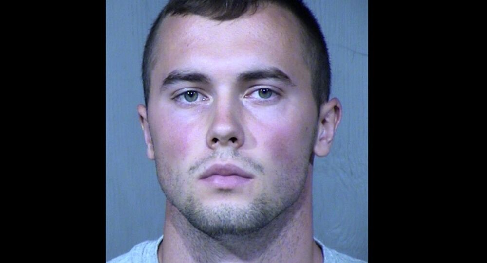 21-year-old, Mark Gooch, an Airman First Class with the United States Air Force was arrested the morning of April 21 at Luke Air Force Base in Glendale, Arizona