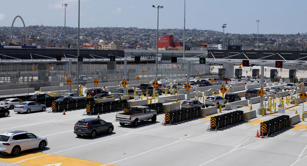 U.S.-Mexico border during COVID-19 outbreak in California
