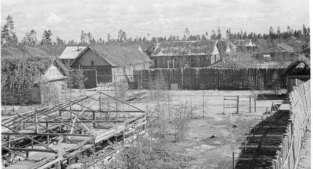 Finnish concentration camp at Vitele