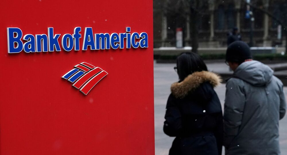 A Bank of America logo is pictured in the Manhattan borough of New York City, New York, U.S., January 30, 2019