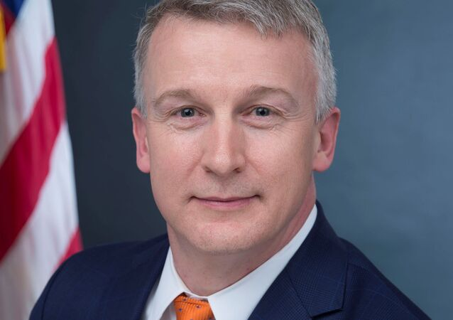 Rick Bright, recently ousted director of the Biomedical Advanced Research and Development Authority, or BARDA, is seen in his official government handout portrait photo from the U.S. Department of Health and Human Services taken in Washington, U.S. in 2017.