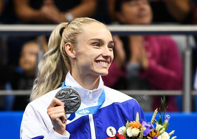 Svetlana Soluyanova at the European games in Minsk