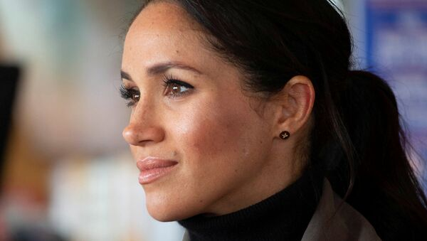 Meghan Markle, the Duchess of Sussex, in New Zealand, at the Maranui Cafe in Wellington, New Zealand October 29, 2018. - Sputnik International