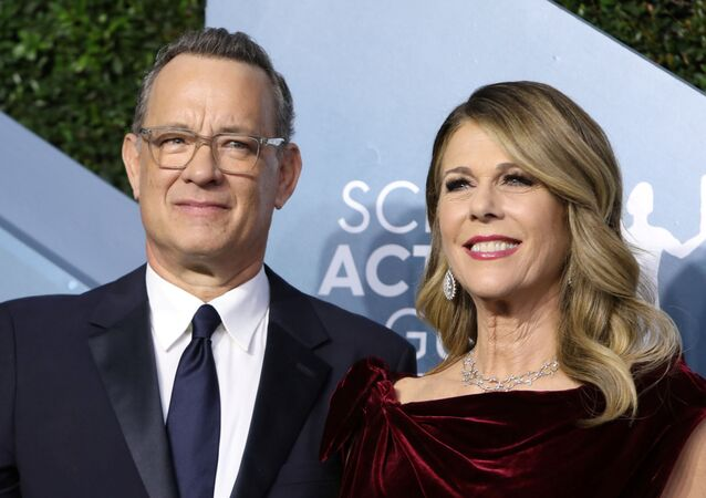 26th Screen Actors Guild Awards – Arrivals – Los Angeles, California, U.S., January 19, 2020 – Tom Hanks and Rita Wilson.