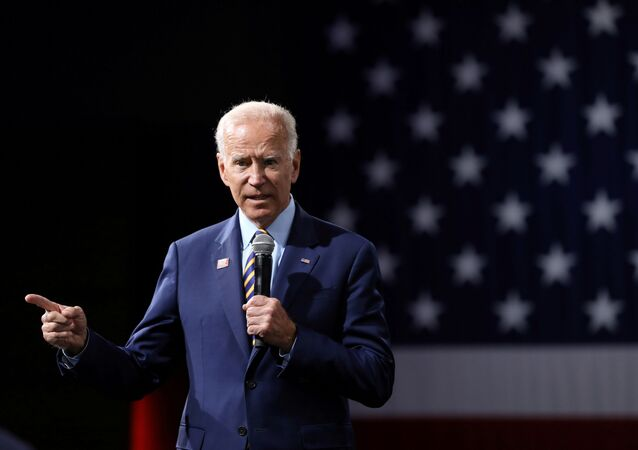 2020 Democratic U.S. presidential candidate and former Vice President Joe Biden speaks during the Presidential Gun Sense Forum in Des Moines, Iowa, U.S., August 10, 2019