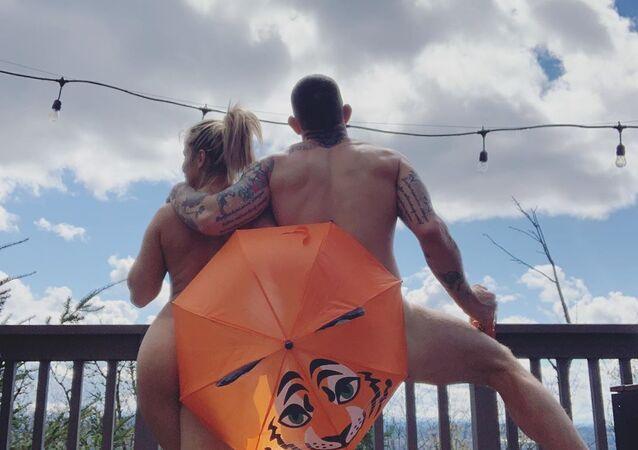 UFC Star Paige VanZant With Husband Austin Vandeford