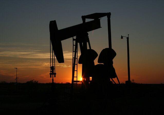 Oil Derrick in Texas