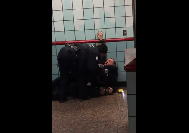 Ariel Roman, seen struggling with Chicago police officers during a February 28 incident