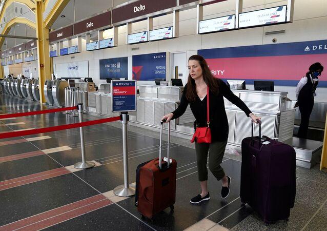 Reagan National airport in Washington