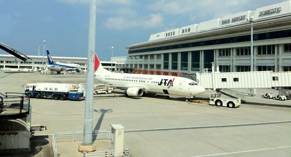 Naha Int'l Airport , Okinawa-pref.
