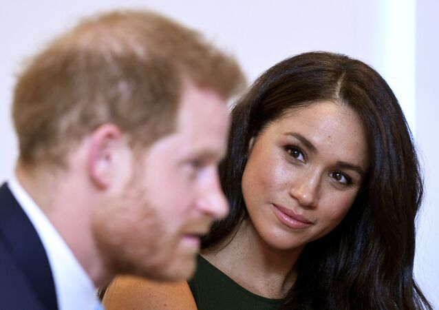 The Duke and Duchess of Sussex attend the annual WellChild Awards in London in October 2019