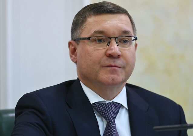 Russian Minister of Construction Industry, Housing, and Utilities Vladimir Yakushev