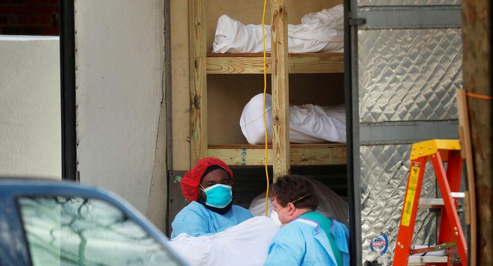 Internal U.S. document predicts surge of coronavirus deaths this month
