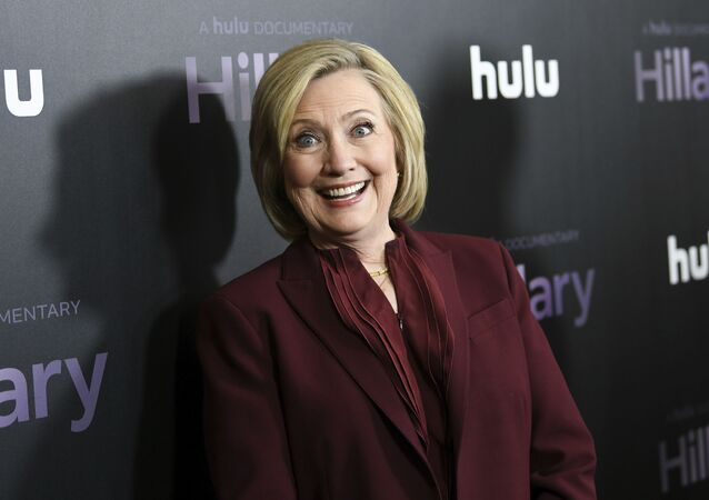 Former secretary of state Hillary Clinton attends the premiere of the Hulu documentary Hillary at the DGA New York Theater on 4 March 2020, in New York