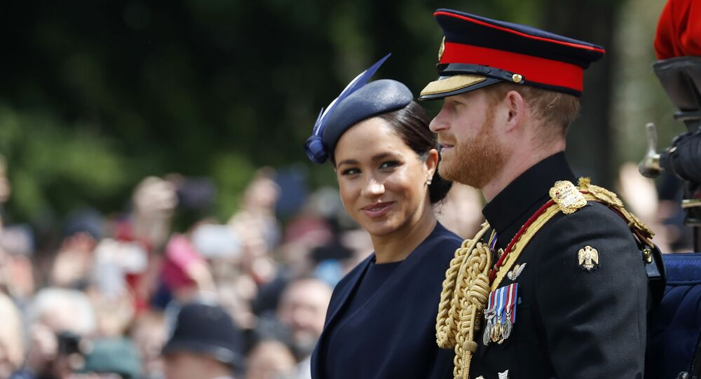 Meghan Markle & Prince Harry Leave Royal Titles Off Letter to Charity