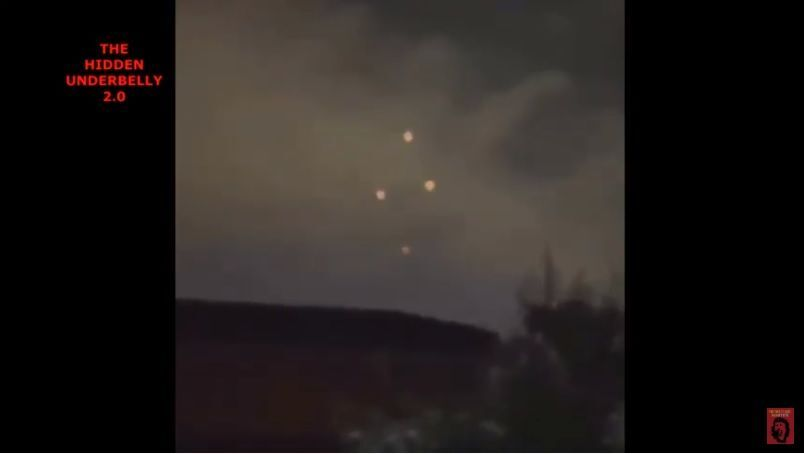 Red Orbs UFOs Sightings From Virginia To Nevada