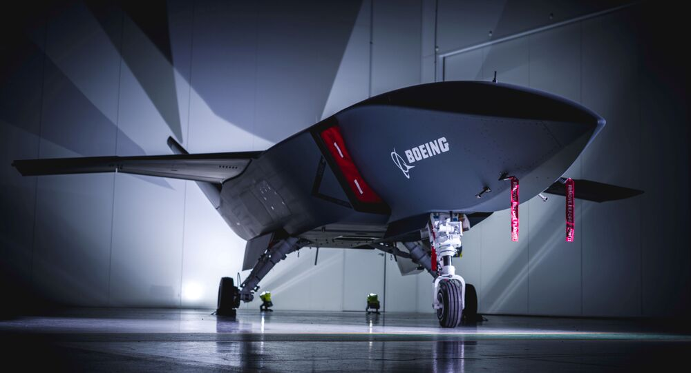 Boeing Rolls Out Loyal Wingman Unmanned Aircraft