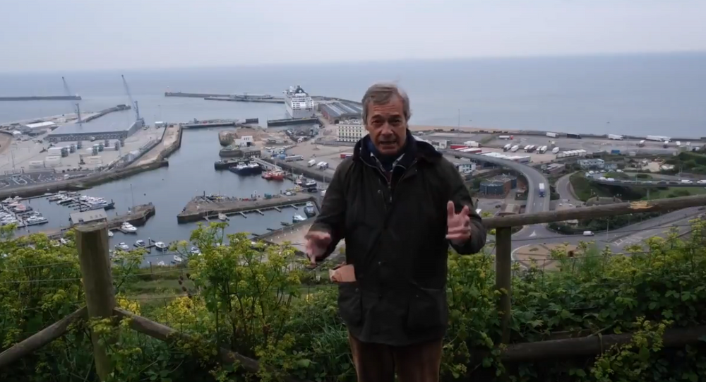 Nigel Farage Dover