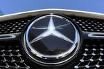 The Mercedes-Benz logo is seen near the Daimler headquarters, as the spread of the coronavirus disease (COVID-19) continues in Stuttgart, Germany, April 22, 2020. REUTERS