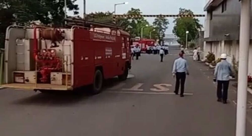 A gas leak from a chemical plant in India's Andhra Pradesh