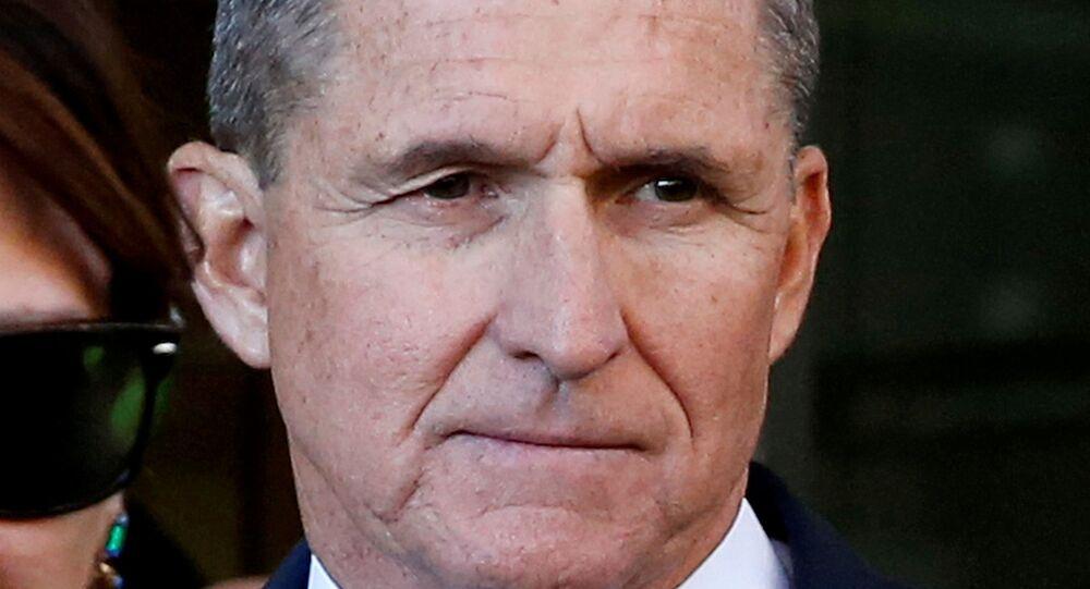 Former U.S. national security adviser Michael Flynn at U.S. District Court in Washington, U.S., December 18, 2018
