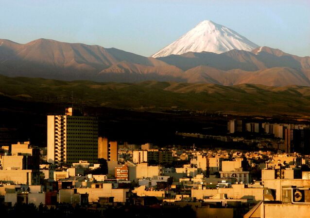 A general view of the Damavand summit northeast of Tehran, Iran, May 19, 2006