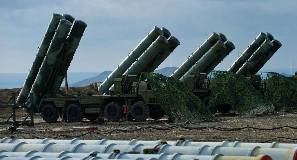 Anti-aircraft defense system S-400 Triumph