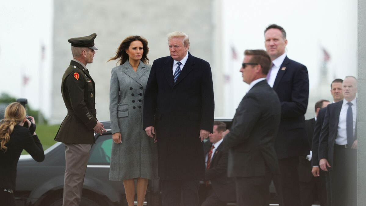 Trump Commemorates 75th Anniversary of the End of World War II in ...