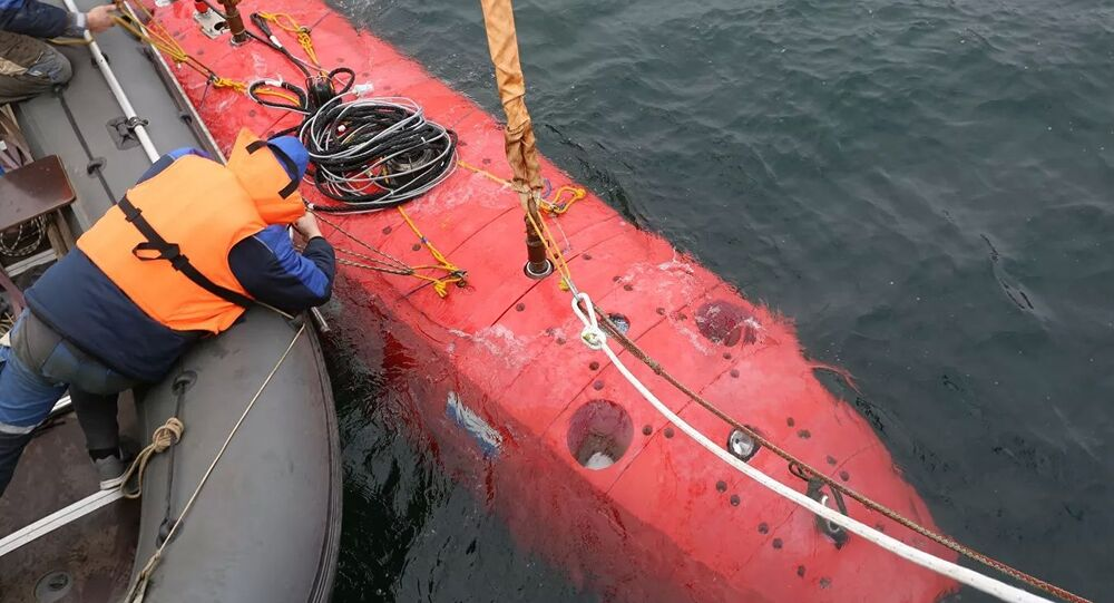 Russian unmanned submarine Vityaz-D