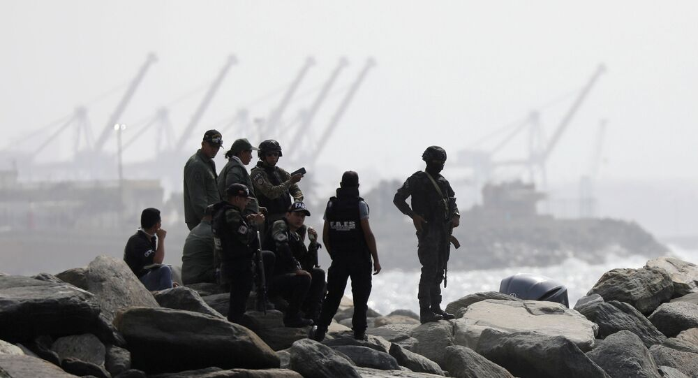 Members of the special forces unit are seen at a shore, after Venezuela's government announced a failed mercenary incursion, in Macuto, Venezuela, May 3, 2020