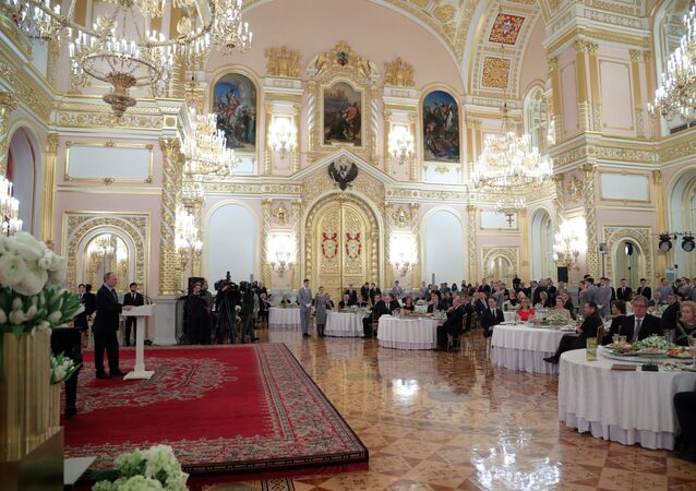 Reception at the Kremlin