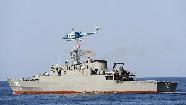 An IRGC Moudge Class frigate - Sputnik International