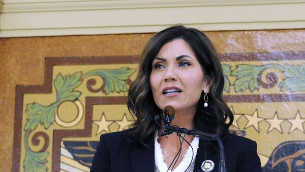 Kristi Noem, Republican governor of South Dakota - Sputnik International